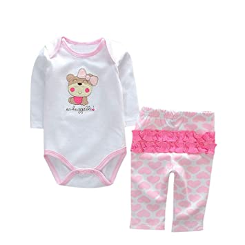 Wokee Fashion Newborn Baby Clothes Reborn Baby Girl Doll Clothes Not