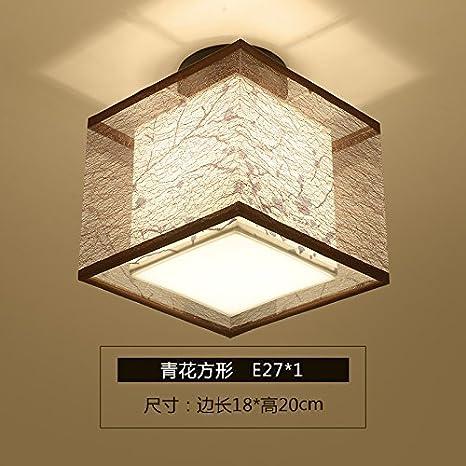 XHOPOS HOME Lámpara de techo telas Sepia la iluminación de ...