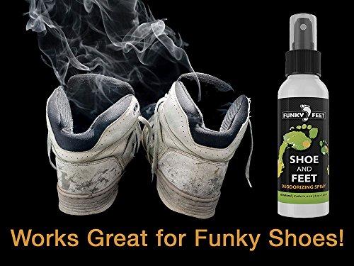 Funky Feet Shoe And Feet Deodorizing Foot Odor Spray 100