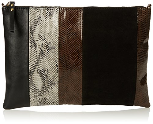 Connection Zip Pouch Black Womens Black Patchworksnake Cross French 70's Body Patchwork Bag Jacie dXaXHxp
