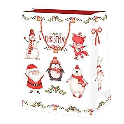 Amazon Com Susy Card 40014340 Christmas Gift Bags 19 5x28x10