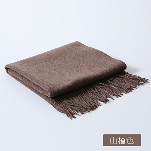 10017 Shan color 200cm Landbuda The New Woolen Scarf Autumn and Winter Wild Pure Wool Scarves, Shawls Shawls Flow