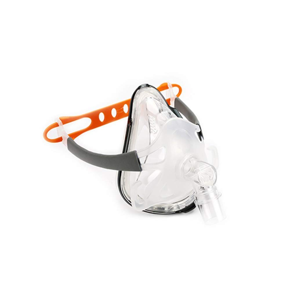 Full Face Mask with Adjustable Headgear Strap Clip (M)