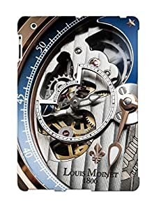 B5304a3242 New Premium Flip Case Cover Louis Moinet Watch Clock Time (9) Skin Case For Ipad 2/3/4 As Christmas's Gift