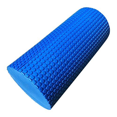Iuhan Fashion 30cm Yoga Pilates Massage Fitness Gym Trigger Point Exercise Foam Roller (Blue)