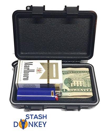 Stash Donkey Magnetic Stash Box 'Slim Dog' Waterproof and Smellproof by Stash Donkey