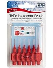TePe Interdental Brush Red 0.5mm Pack of 6