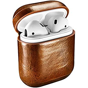 Amazon.com: Leather Case Apple AirPods, Classic Series