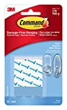 Command Refill Strips, Medium, Clear, 12-Strips (17021CLR-12ES)