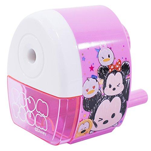 Apontador A Manivela Rosa Tsum Tsum - Disney
