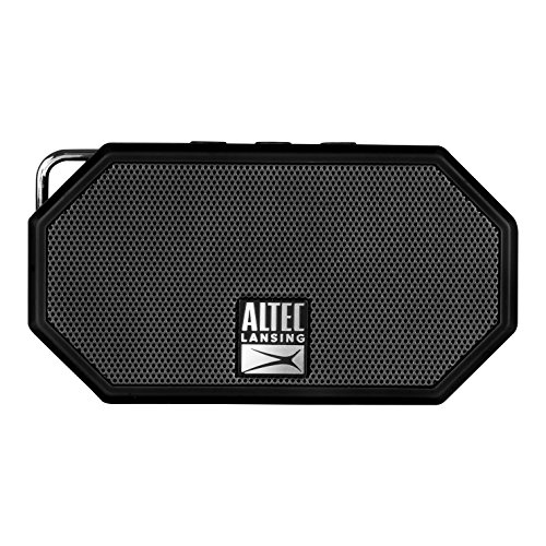 Altec Lansing Black Computer Speaker - Altec Lansing IMW258 Mini H2O 3 Portable Bluetooth Waterproof Speaker (Black)