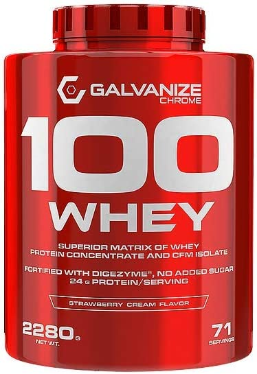Proteina 100 Whey 2280 Grs - Galvanize Nutrition, FRENCH ...