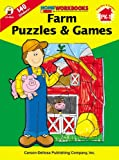 Farm Puzzles and Games,Grades PK - 1, , 0887247016