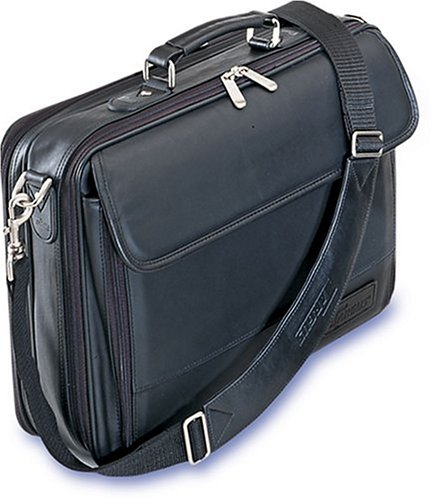Targus Traditional Leather Case for 15.4 Inch Laptops CLN5 (Black)