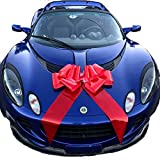 "Giant 23"" Red Car Bow, Gift, House, Graduation, Happy Birthday, Bicycle 
