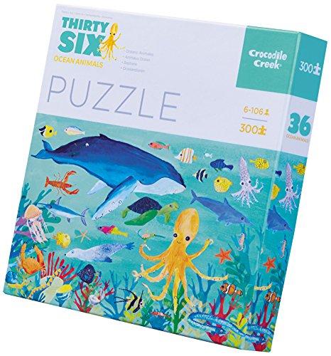 Crocodile Creek Thirty-Six Ocean Animals Jigsaw Puzzle Floor