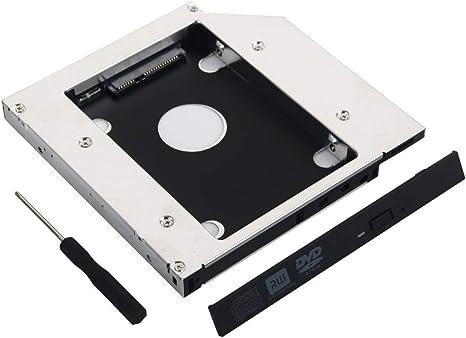 DeYoung SATA 2 nd HDD Disco Duro Caddy para HP Pavilion DV3 DV4 ...