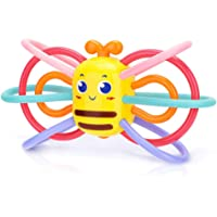 Rattle and Sensory Teether Baby teether Toys (Bee)