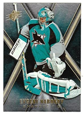 Evgeni Nabokov (Hockey Card) 2005-06 Upper Deck SPx # 75