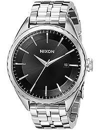 Nixon Women's A934000 Minx Analog Display Swiss Quartz Silver Watch