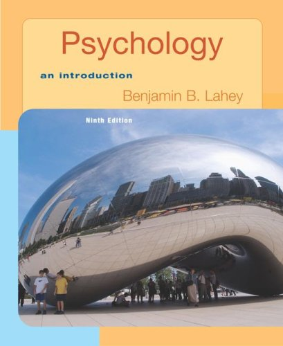Psychology: An Introduction with In Psych Student CD-ROM