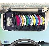 SHOPEE Branded Car Cd DVD Visor Organizer Holder Storage Black