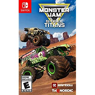 Monster Jam Steel Titans - Nintendo Switch