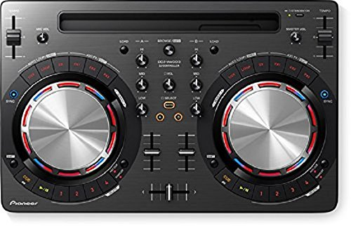 (Pioneer DDJ-WEGO3-K Compact DJ 4/Dual Deck Controller, Black)