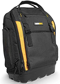 TG888 Heavy Duty Backpack Xtreme Tough Jobsite Easy Tool Construction Storage Bag