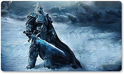 Warcraft120 – Juego de mesa de Warcraft tapete de mesa Wow juegos teclado Pad Tamaño 60 x 35 cm World of Warcraft Mousepad para Yugioh Pokemon MTG o TCG: Amazon.es: Oficina y papelería