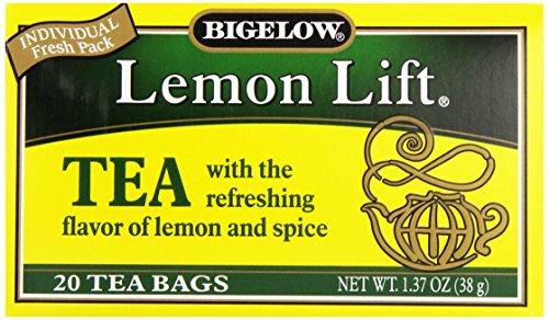 Bigelow, Black Tea, Lemon Lift, 20 Tea Bags, 1.37 oz (38 g)