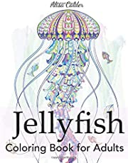 Jellyfish Coloring Book for Adults