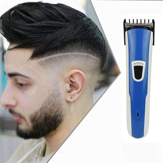 LUKU Cortapelos Profesional Hombres eléctrico, barbero ...