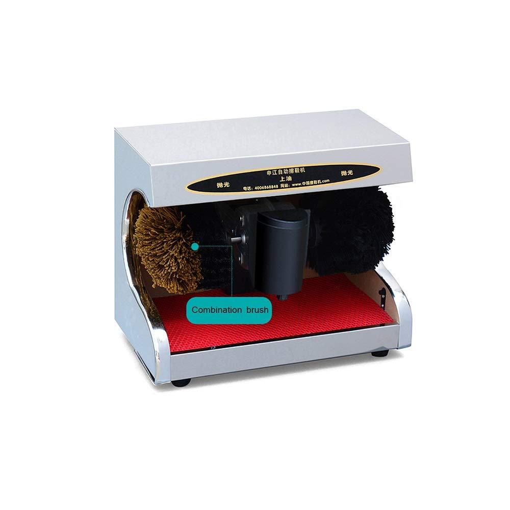 QFFL 靴のポリッシャ機械、家族のホテル銀行公共の場のための電気靴のポーランド人機械3ブラシシステム クリーニングブラシ (色 : A) B07PM5DJ1K A