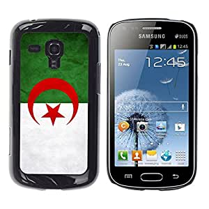 Paccase / SLIM PC / Aliminium Casa Carcasa Funda Case Cover - National Flag Nation Country Algeri - Samsung Galaxy S Duos S7562