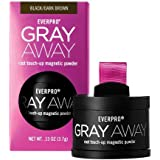 Amazon Com Gray Away Root Concealer Black To Deep