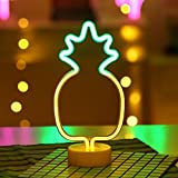 Neon LED Light, Wall Table Decor Lamp for Chistmas, Wedding Birthday Party & Bedroom, Living Room (Pineapple)