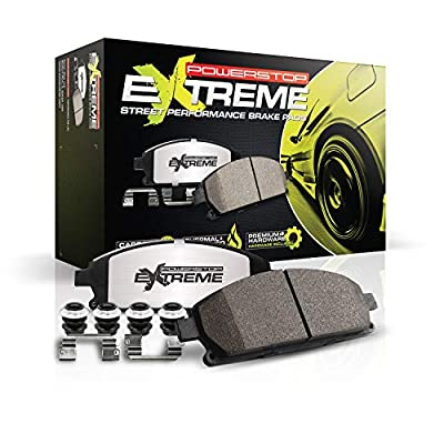 Power Stop Z26-1793 Z26 Extreme Performance Carbon-Ceramic Brake Pad: Automotive