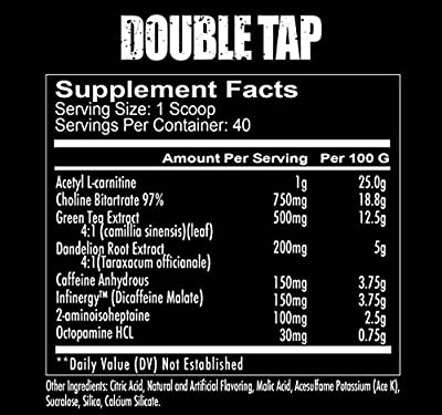 Redcon1 Double Tap Thermogenic Fat Burner