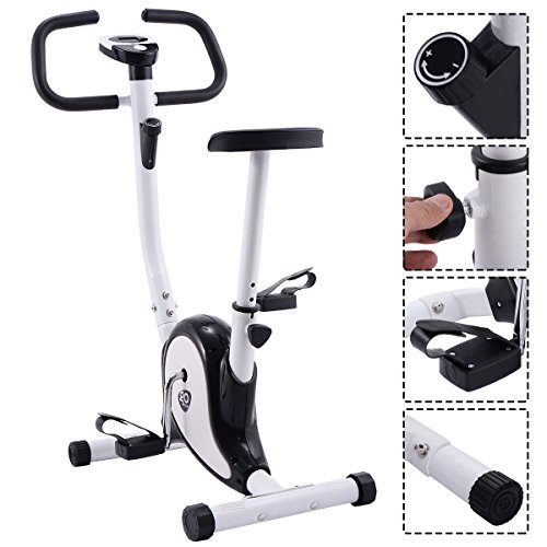 Exercise Bike In Walmart: Goplus Upright Exercise Bike Magnetic Stationary Cycling