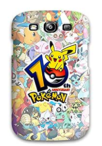 New Pokemon Tpu Skin Case Compatible With Galaxy S3