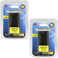 MaximalPower DB DB SON F550 X2  Maximalpower Replacement Battery for Sony Camera Select Models, Pack of 2