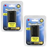 Maximal Power DB SON F550 X2 Replacement Battery, 2-Piece (Black)