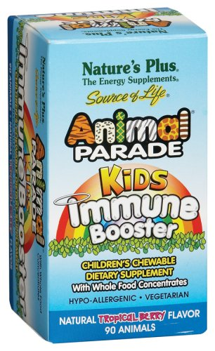 Nature Plus - Parade des animaux Immune Booster, 90 comprimés à croquer