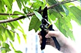 Pruning-Shears-Extra-Hardness-Extra-Sharp-Tree-Clippers-Garden-Hand-Pruners-Cutting-Easier-Ergonomic-Comfortable-Slip-Less-Effort-Gardening-Scissors