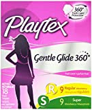 Health & Personal Care : Playtex Gentle Glide Tampons with Triple Layer Protection, Regular and Super  Multi-Pack, Fresh Scent - 18 Count (Pack of 2)