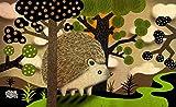 """Toland Home Garden Happy Hedgehog Indoor-Outdoor Standard Mat, 18"""" x 30"""""""