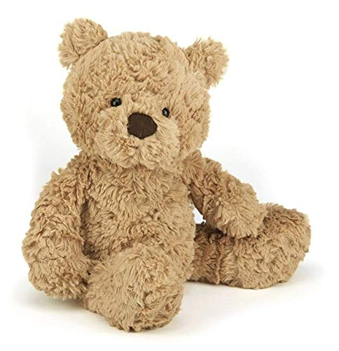 - Jellycat Bumbly Bear Stuffed Animal, Small, 12 inches