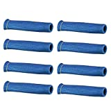 WINOMO 8pcs High Temperature Shield Spark Plug Wire Boots Protector Sleeve Cover (Blue)