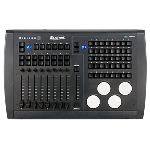 Elation Professional MIDICON-2 USB Powered Lighting Software Controller